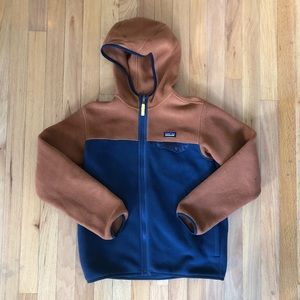 Patagonia Synchilla hooded fleece zip up YOUTH XL